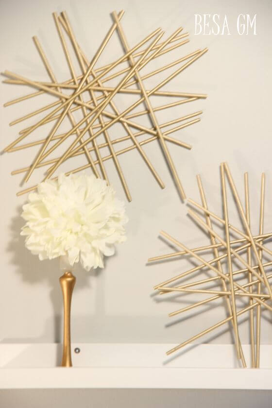 DIY Projects with Bamboo Skewers, skewers diy project, how to make bamboo skewers at home,crafts using bamboo skewers | Lives In Style