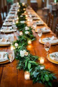 Wedding Decoration Ideas, Wedding Ideas, Wedding Decoration,Wedding,Seaside Weddings,Forest Weddings,Wedding Table Decoration | Lives In Style