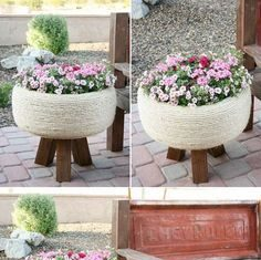 DIY Flower Pot Making at Home, What can I use instead of plant pots?,flower pot making ideas,diy recycled flower pots | Lives In Style